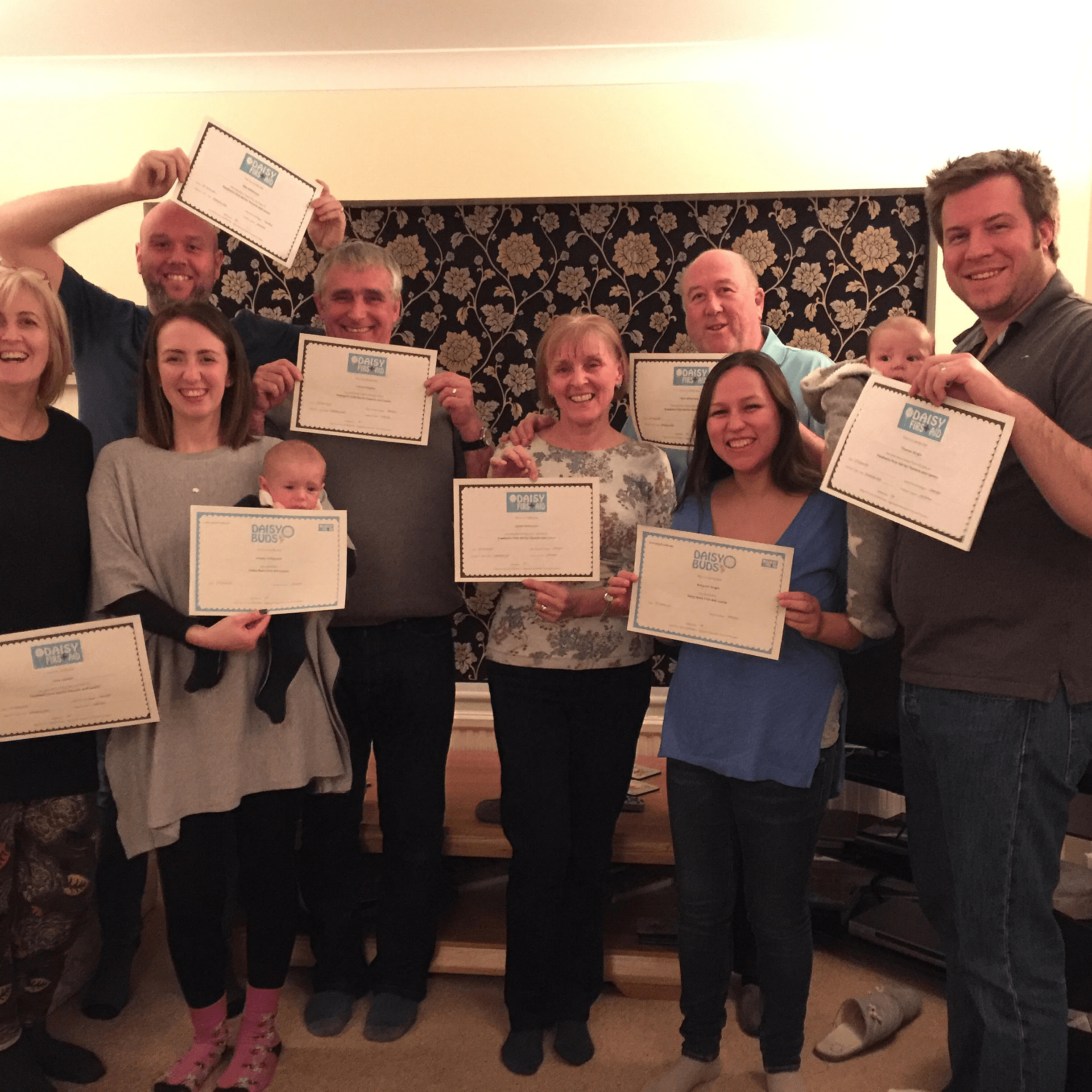 Daisy First Aid attendees